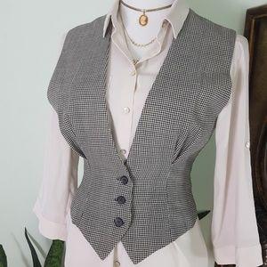 Ralph Lauren Rare Designer Sample Houndstooth Vest